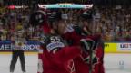 Video «Kanada mit Mini-Sieg gegen Deutschland» abspielen