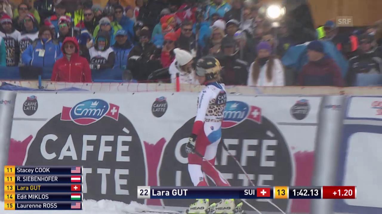 Lara Gut ist in St. Moritz chancenlos