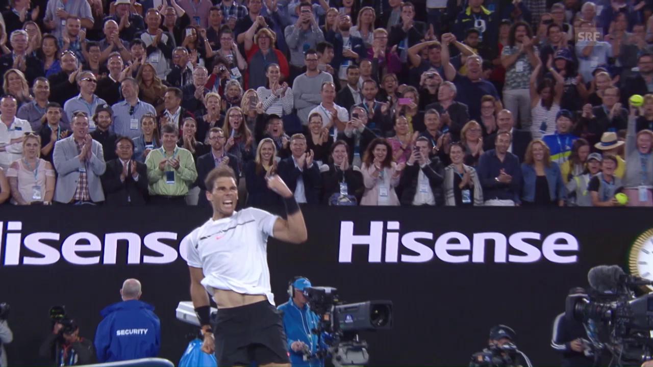 Nadal zieht in Halbfinal ein
