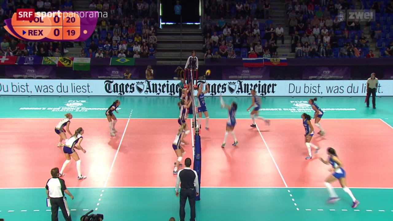 Volleyball: Klub-WM in Zürich