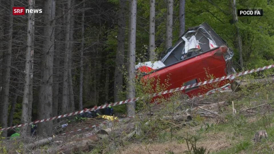 Ein Sechsjähriger überlebt Seilbahn-Unglück am Lago Maggiore