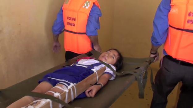 Video «Katastrophenübung an einer Schule im Mekong-Delta» abspielen