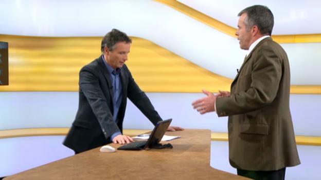 Video «Studiogespräch mit Lorenz Hess, Nationalrat BDP Bern» abspielen