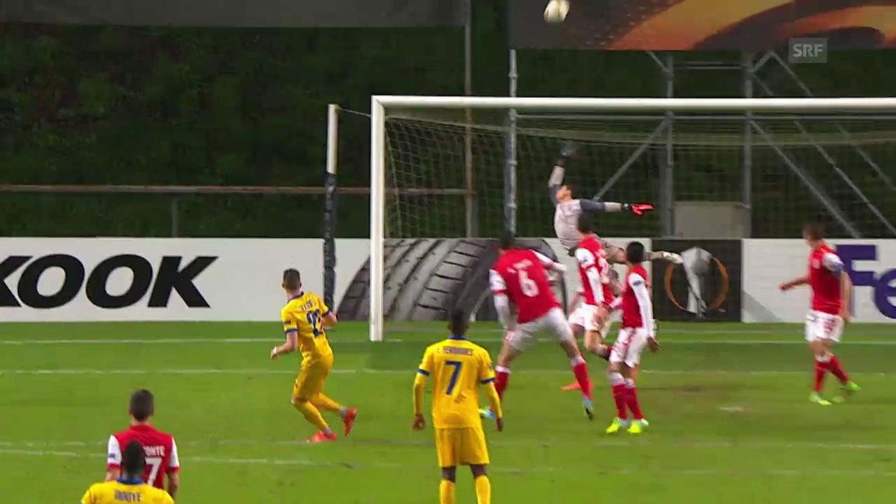 Die Live-Highlights von Braga - Sion