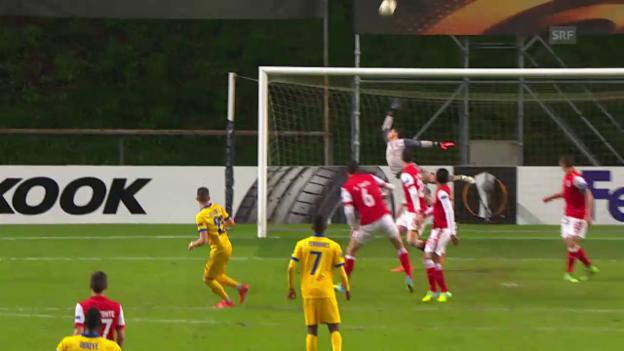 Video «Die Live-Highlights von Braga - Sion» abspielen