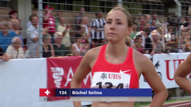 Video «Leichtathletik: Bellinzona, 800 m Frauen» abspielen