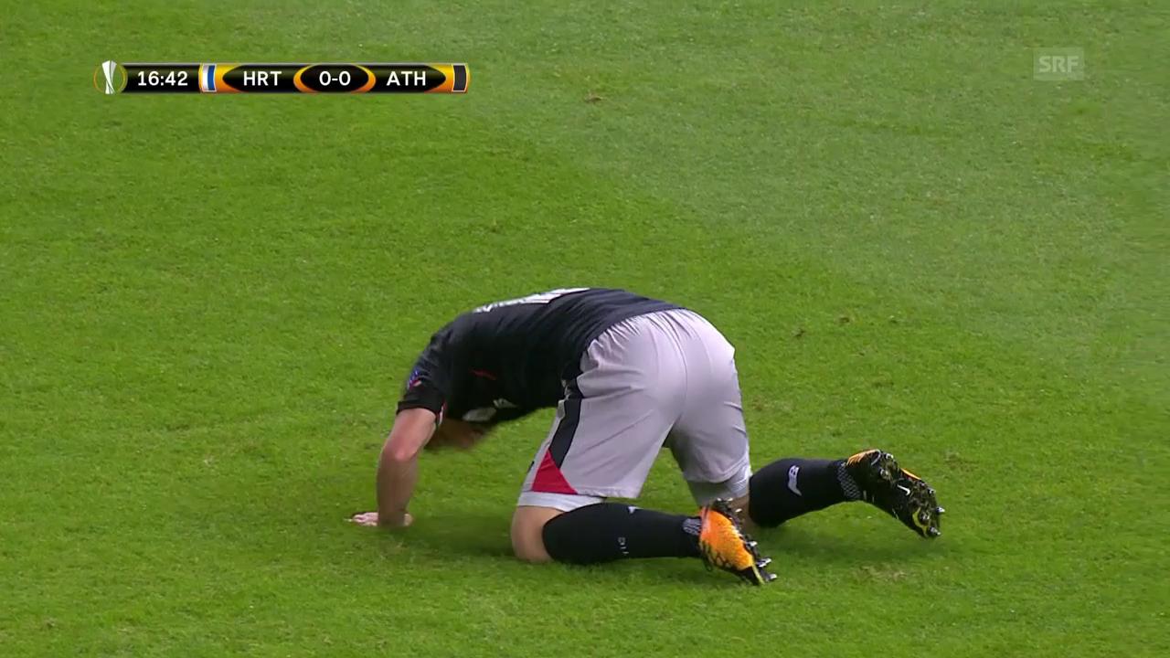 Keine Tore bei Hertha-Bilbao