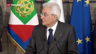 Video «Noch immer keine italienische Regierung» abspielen