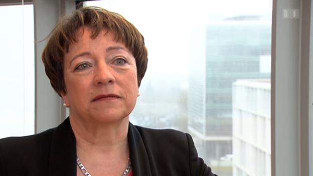 Video «Barbara Kessler, Novartis, droht mit Wegzug» abspielen
