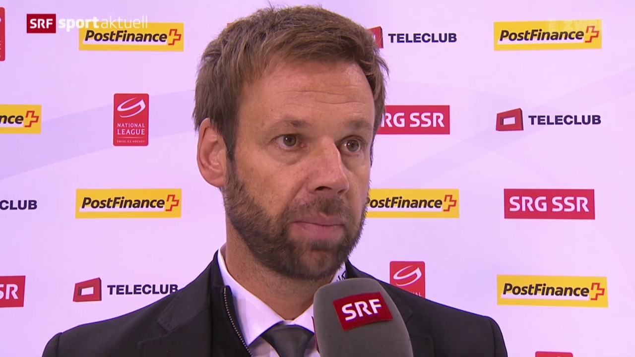 Eishockey: Interview Zenhäusern