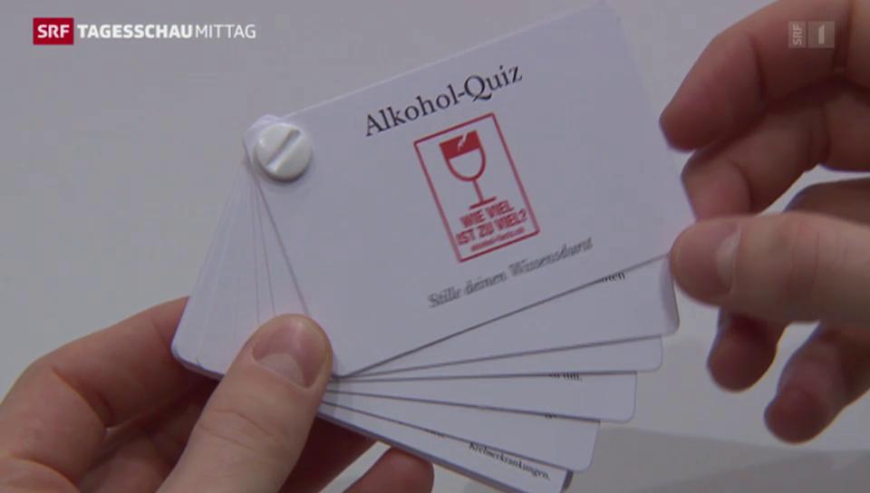 Schweizer sollen weniger trinken