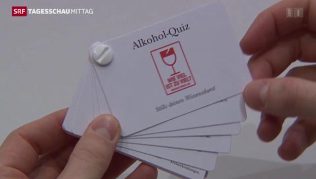 Video «Schweizer sollen weniger trinken» abspielen