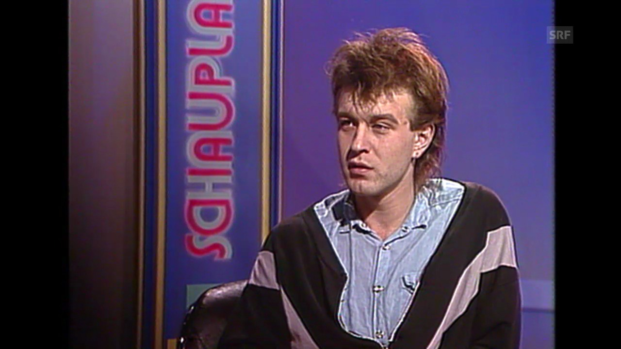 Züri West 1. TV-Auftritt, 1985
