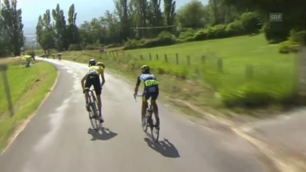 Video «Rad: Chris Froome am Limit («sportlive»)» abspielen