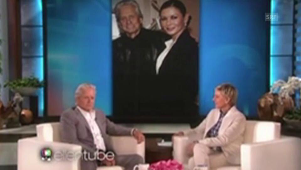 Michael Douglas bei Ellen DeGeneres