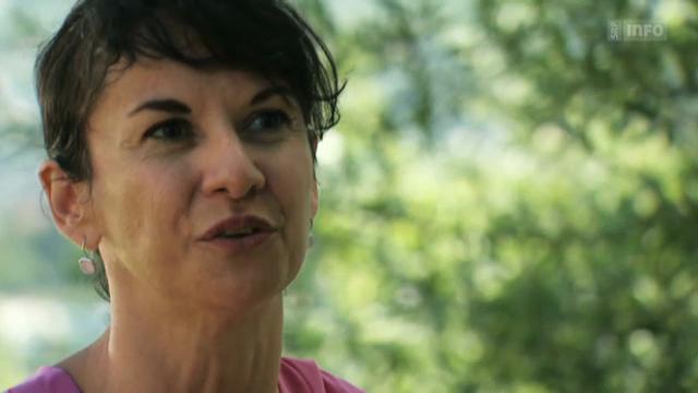 Falconi im Gespräch mit Nina Mavis Brunner