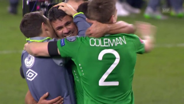 Video «Fussball: EM-Quali, Barrage, Irland - Bosnien» abspielen