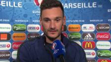 Video «Lloris: «Deutschland hat viel Erfahrung» (französisch)» abspielen