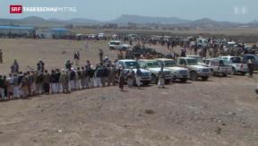 Video «Jemen droht politisches Chaos» abspielen