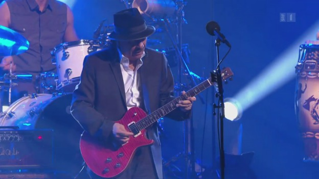 Video «Happy Birthday, Carlos Santana!» abspielen