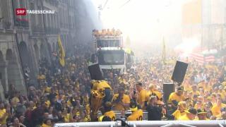Video «Meisterfeier in Bern» abspielen