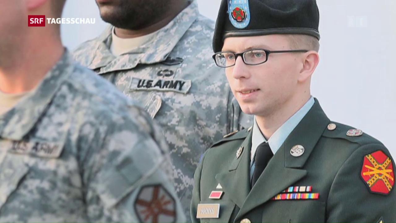 Obama begnadigt Manning