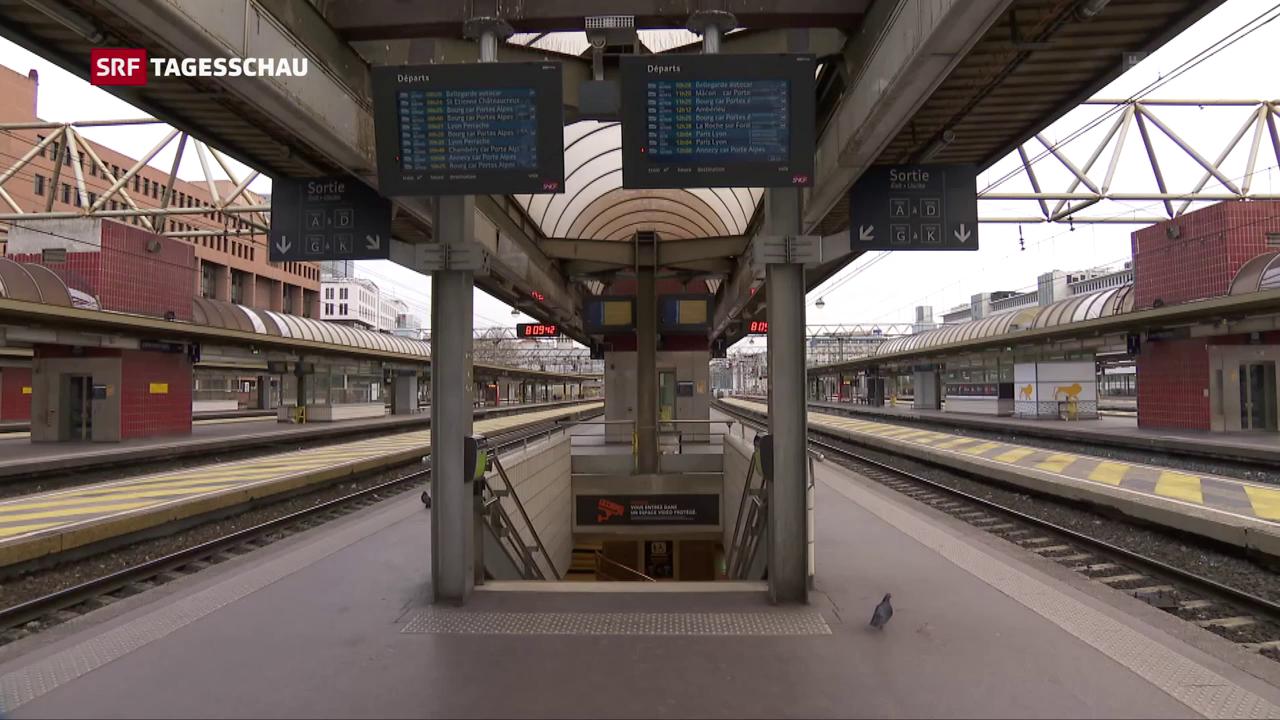 Bahnstreik legt Frankreich lahm