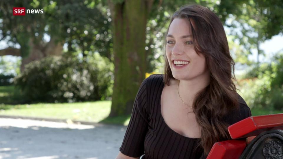 Schauspielerin Ella Rumpf im Portrait