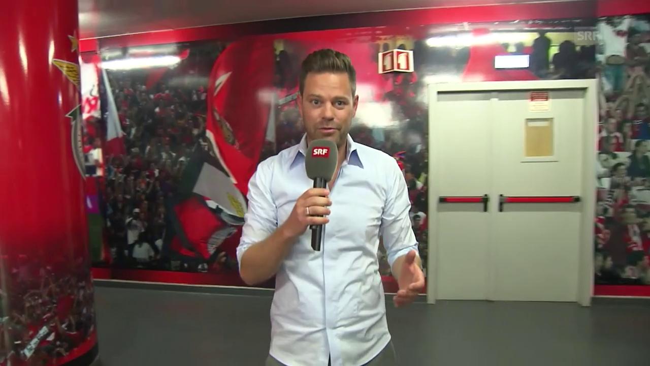 Lukas Studer nimmt Sie mit ins «Estadio da Luz»
