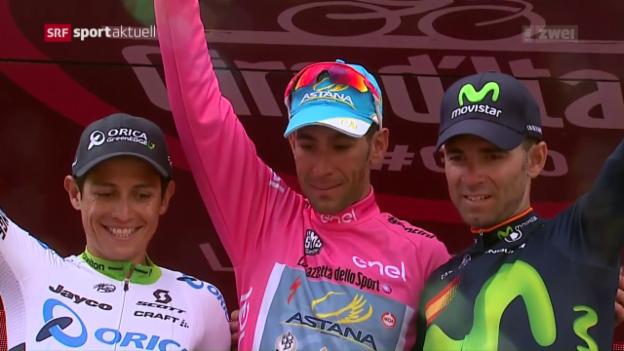 Video «Nibali gewinnt Giro: Die Rückkehr des «Hais»» abspielen