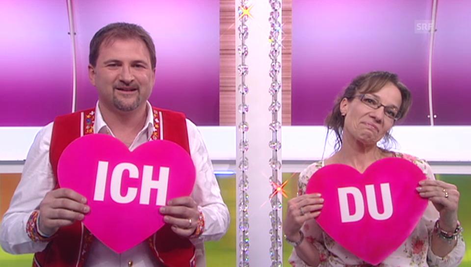 Schlagersänger Stefan Roos und Ehefrau Karin