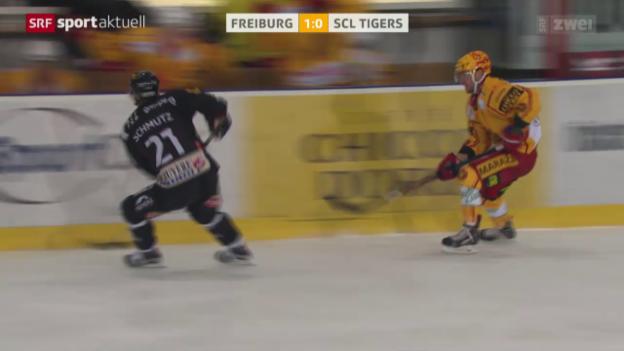 Video «Eishockey: NLA, Freiburg - SCL Tigers» abspielen