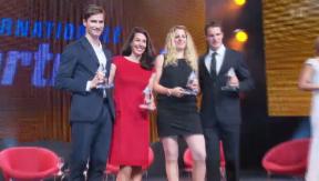 Video «Sportnacht Davos: Klassentreffen der Schweizer Olympioniken» abspielen
