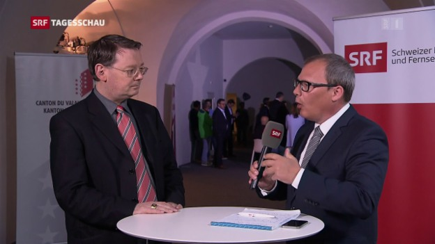 Video «Roger Brunner zur Abwahl von Freysinger» abspielen
