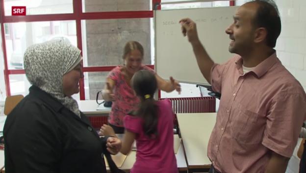 Video «Tessiner Bürger engagieren sich für syrische Flüchtlinge» abspielen