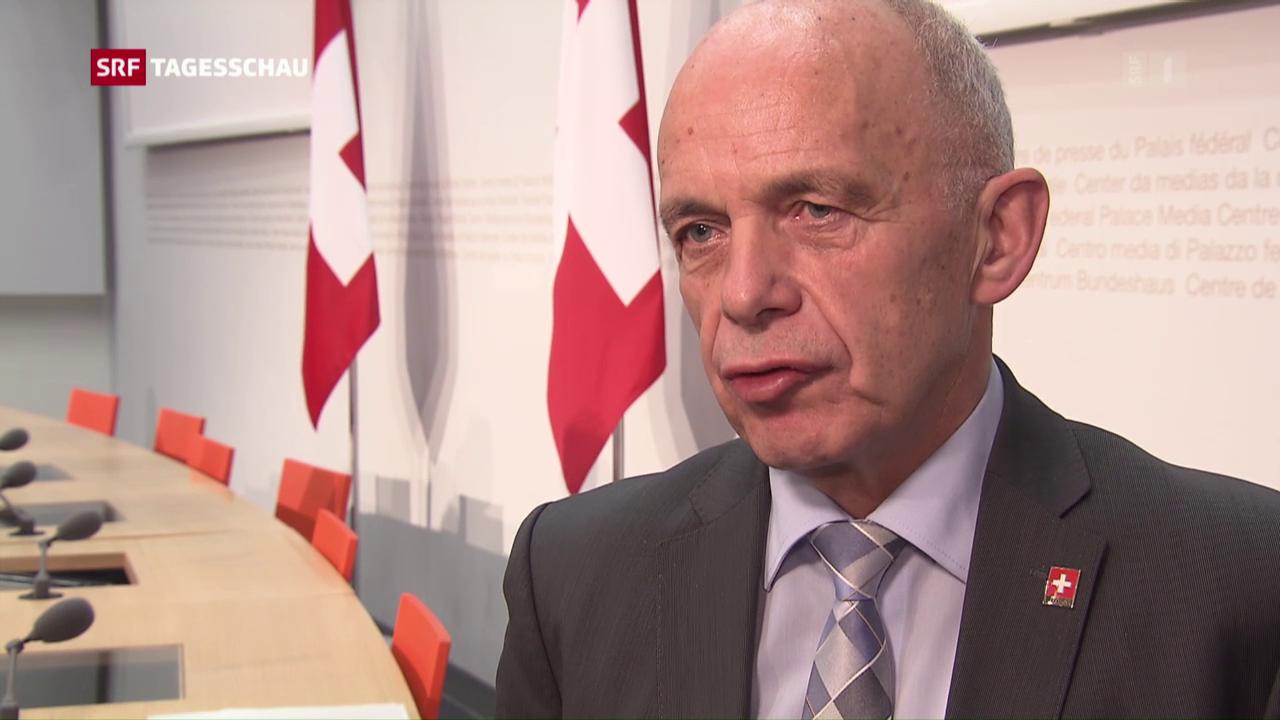 Ueli Maurer weibelt für Unternehmenssteuerreform