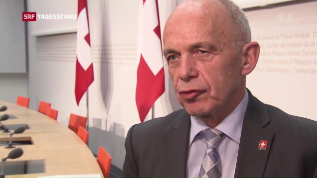Video «Ueli Maurer weibelt für Unternehmenssteuerreform» abspielen