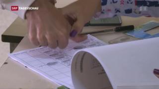 Video «Umstrittene Wahlen in Venezuela » abspielen