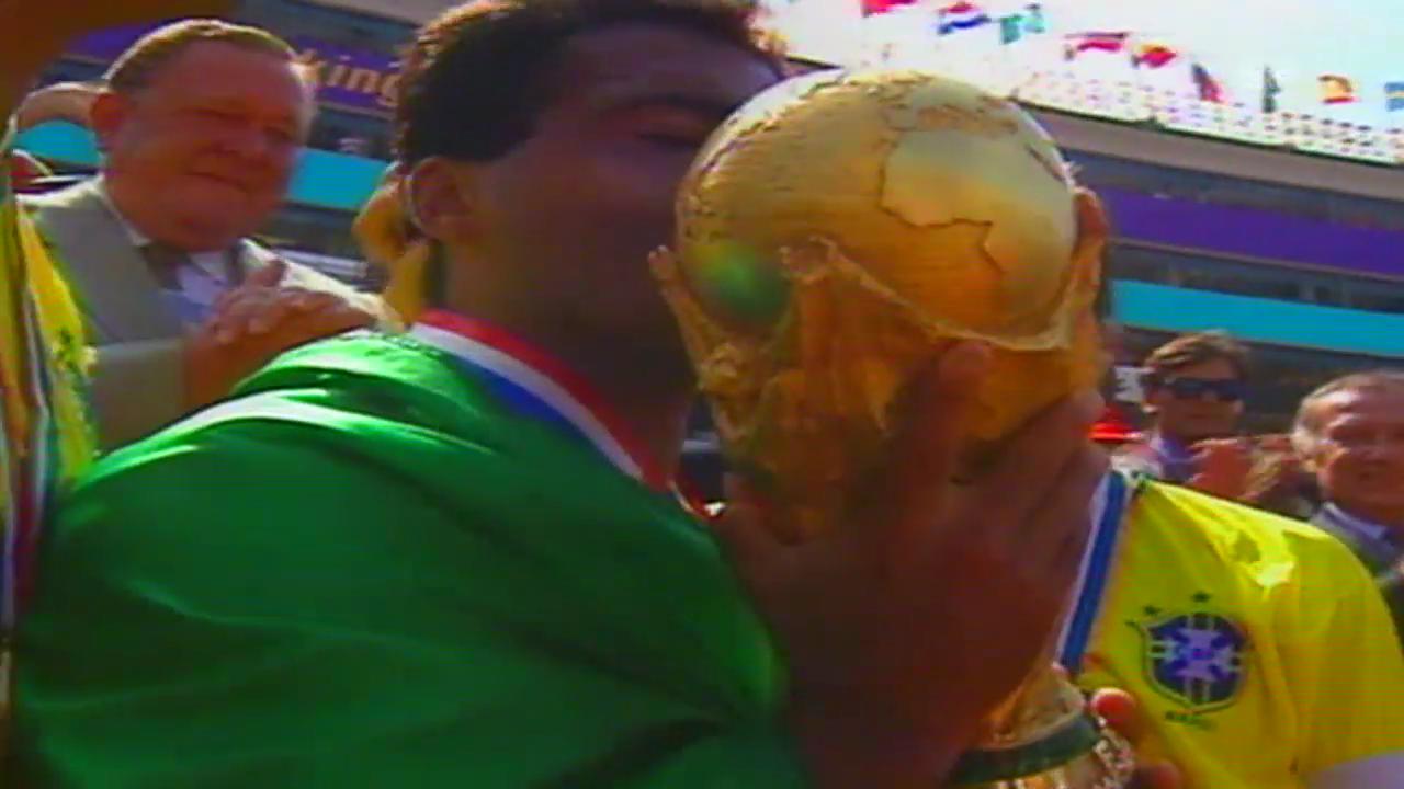 Fussball: WM 1994, Final Brasilien - Italien