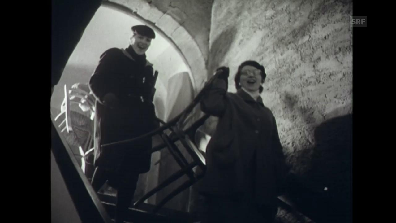 Die Eröffnung des Basler Fauteuil (6.12.1957)