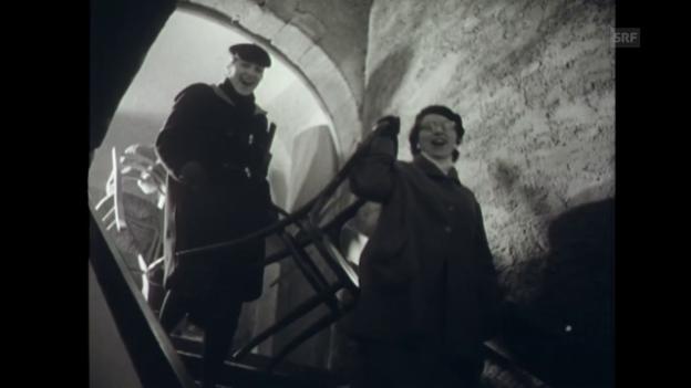 Video «Die Eröffnung des Basler Fauteuil (6.12.1957)» abspielen