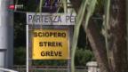 Video «Streik auf dem Lago Maggiore» abspielen