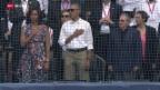 Video «Obamas Reise nach Kuba beendet» abspielen