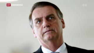 Video «Bolsonaro am WEF» abspielen