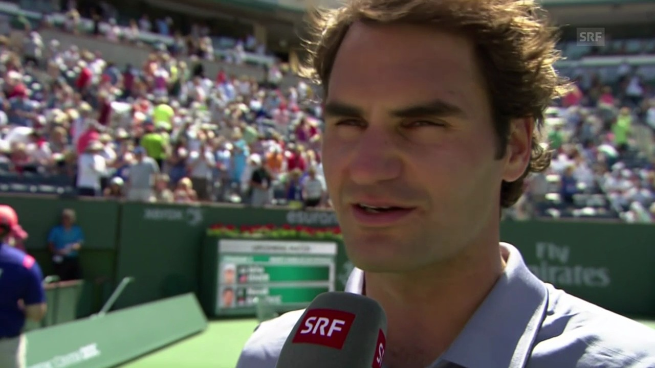 Interview mit Roger Federer
