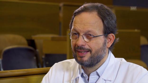 Video «Interview mit Gian Domenico Borasio» abspielen
