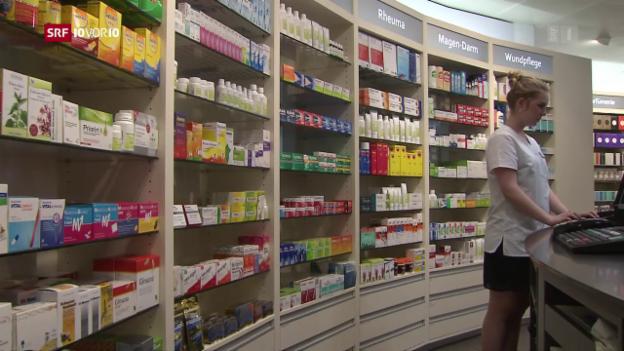 Video «Darf die Migros in Zukunft Medikamente verkaufen?» abspielen