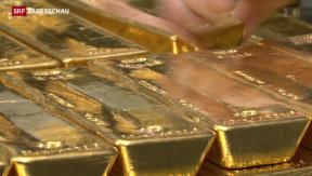 Video «Volk lässt sich von Gold-Vorlage nicht blenden  » abspielen