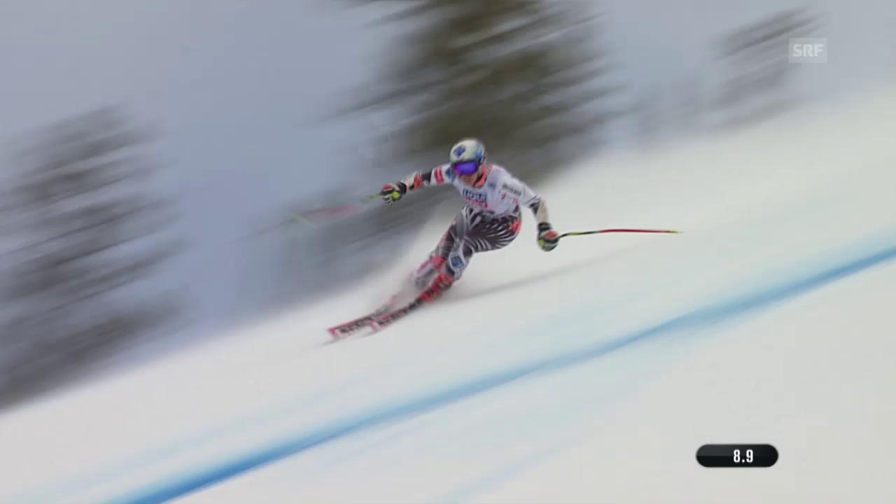 Ski alpin: WM in Vail/Beaver Creek, Super-G der Frauen, Fahrt von Tina Weirather