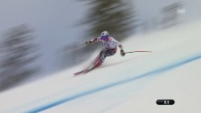 Video «Ski alpin: WM in Vail/Beaver Creek, Super-G der Frauen, Fahrt von Tina Weirather» abspielen